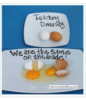 What is Diversity? {Egg Activity for Martin Luther King Jr. Day}
