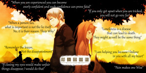 Spice and Wolf Quotes by CopperBack01