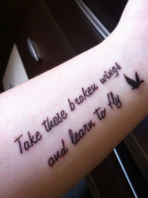 Beatles Lyric Tattoo: Blackbird