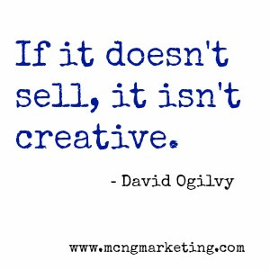DavidOgilvy.Ifit doesnt sellits not creative quote. #Advertising