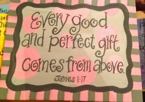 Bible verse painting, scripture painting, nursery painting, bible ...