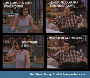 friends joey monica funny pic picture lol