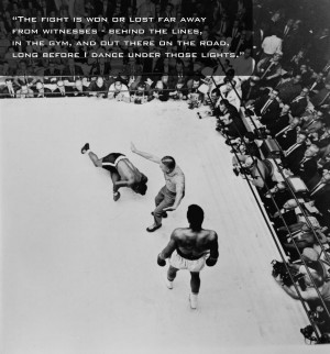 In 1965 Ali defended his world title against former champion Floyd ...