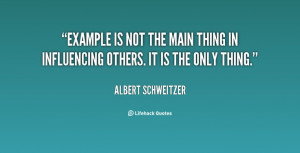 Leadership by example #quote