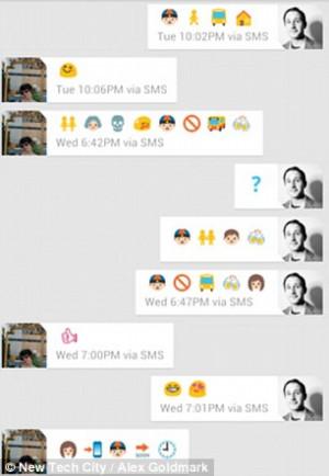 Cute Text Using Emojis