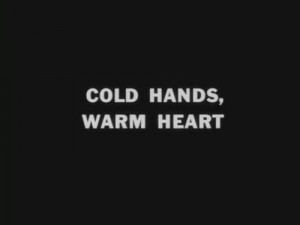 black and white, cold, hands, heart, quote, warm