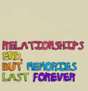 Love quotes: Relationships end but memories last forever