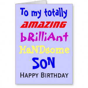 son happy birthday