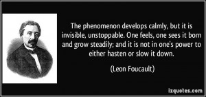 The phenomenon develops calmly, but it is invisible, unstoppable. One ...