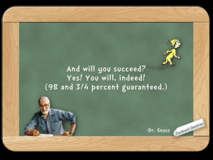 Dr. Seuss... on Success