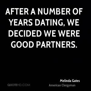 Melinda Gates Dating Quotes