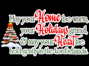 May the spirit of Christmas bring you peace,