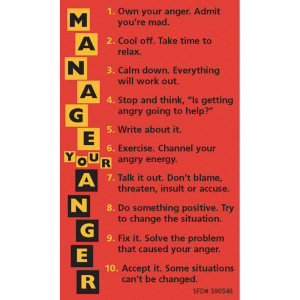 Magnets for Teens: (25 Pack) Manage Your Anger