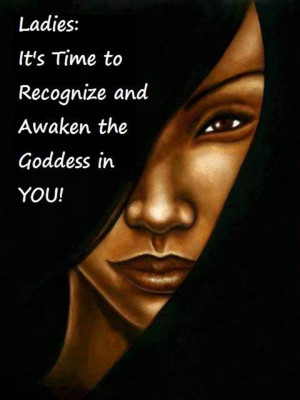 awaken my inner goddess! :)