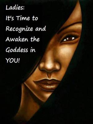 awaken my inner goddess! :)
