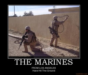 Marine Corps Motivational Poster Los Angeles Marines