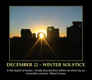 圖片標題: WINTER SOLSTICE-quote-inspirational-advent …