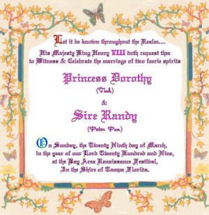 Peter Pan Got Married - Internet Legend's Online Wedding Album
