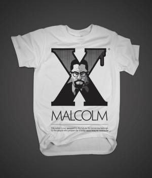 Image of Malcolm X Tshirt
