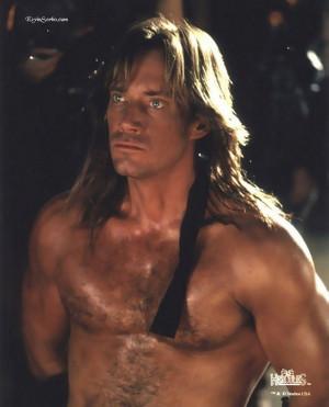 Kevin Sorbo. Loved him as Hercules