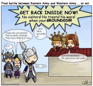 Battle? -Samurai Warriors by LoneHana