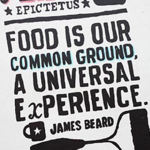 Thank you, James Beard.