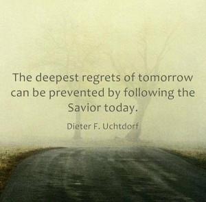 Follow the Savior. #Elder Uchtdorf