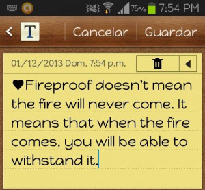 Fireproof Quotes