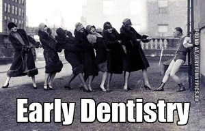 funny picture early dentistry