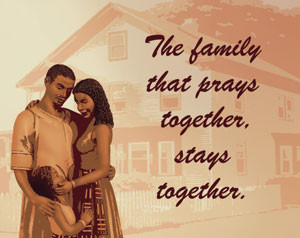 Inspirational Canvas (Pastel) The family that Prays Together-Stays ...