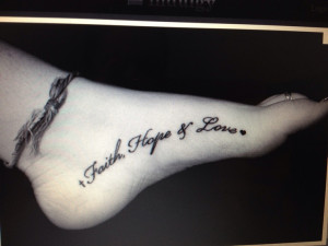 tattoo sayings about hope - Google Search