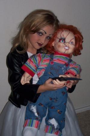 Chucky Bride Kids Costume