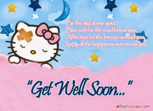 New Year Get Well Soon Greeting Cards for Patients 2015