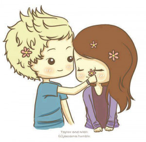 cute, drawing, flower, horan, niall, niall horan, one direction ...