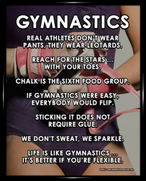 Funny Gymnastics Quotes