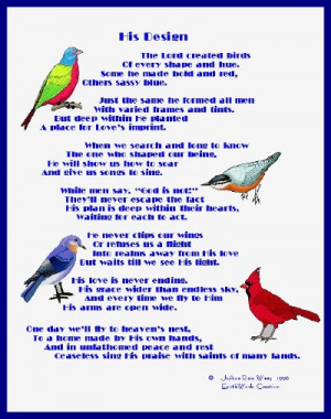 Poet Seers Poems About Birds