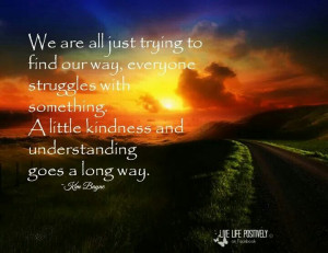 Little Kindness And Understanding