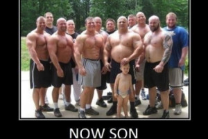 ... posters muscle men funny demotivational posters muscle men
