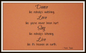 Love Dance Quotes I love quotes, so it's hard to