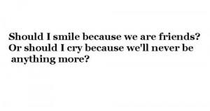 sad love sayings to a boy