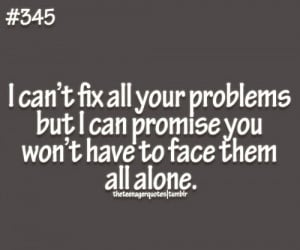 Being there for someone