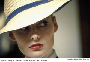 ... Alison Doody, Dr. Jones, Amazing Women, Indiana Jones, Vintage Style