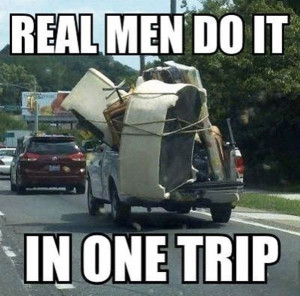 Real Men One trip