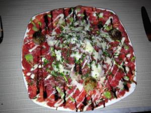 Todd English 39 s Olives Photo Beef carpaccio