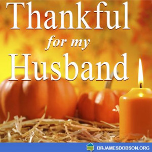Thankful for my husband!