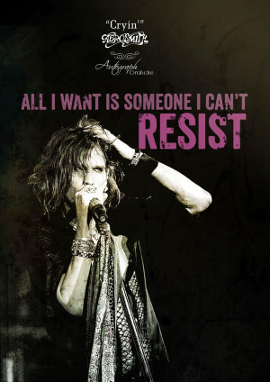 Aerosmith Quotes - Words from legendary songs