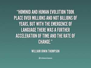 Human Evolution Funny Quotes