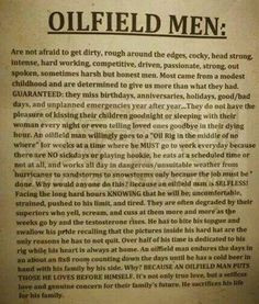 Sure Do Love My Oilfield Man This Could Not Have Said It Better