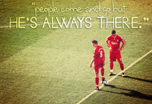 withasingleballoon: Steven Gerrard quote series ¬ 2. Fernando Torres ...
