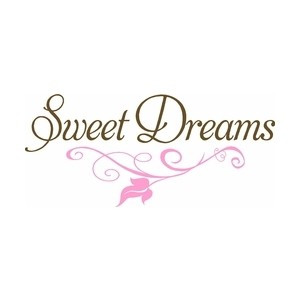 Sweet Dreams Vinyl Wall Quote for Nursery